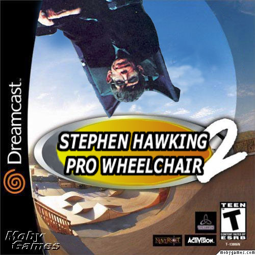 Stephen Hawking Pro Wheelchair